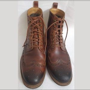 Clark's Montacute Lord Wing-Tip Leather Boot